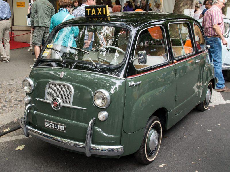 Vanha taksi
